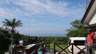 青空続き気持ちの良い暑さも続いていた5/22の八丈島
