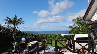 カラッと爽やかな青空続き初夏のような陽気となっていた5/23の八丈島