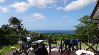 空気も乾いて爽やかな青空が広がっていた6/3の八丈島