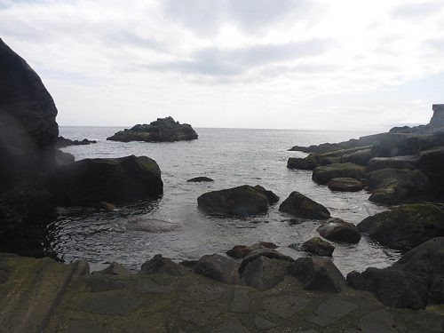 午後の乙千代ヶ浜