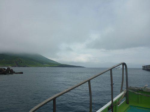 東側でボートダイビング