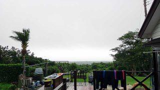 すっかり雲は広がり続けていた7/5の八丈島