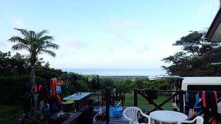 風は少し涼しくなるが日差しは強くて暑くもあった8/14の八丈島