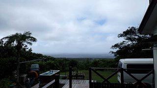 日中晴れ間はあるものの雲は広がり涼しくなってた9/2の八丈島
