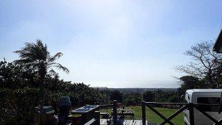 風は強くもありますがカラッと爽やかな青空広がっていた10/30の八丈島