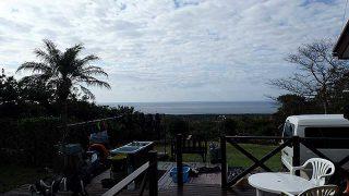 朝夕冷えるが気持ちの良い青空は広がってきていた11/6の八丈島