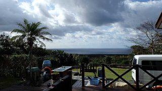 少し雲は増えてはくるが青空あって日差しは暖かだった11/13の八丈島