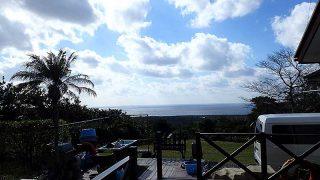 気持ちの良い青空は広がるが空気は冷たくなってた12/1の八丈島