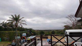一時雨は降るものの日中は暖かくもなっていた1/15の八丈島