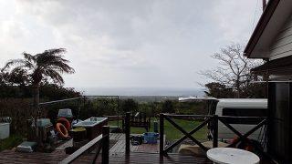 風が変わると一気に涼しさも戻ってきていた3/30の八丈島