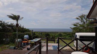青空続き穏やかな天気となっていた5/12の八丈島