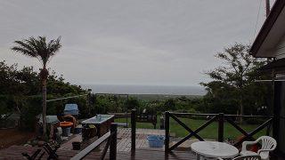 パラッと雨は降っては来るが青空も広がってきていた5/19の八丈島