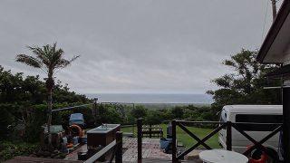 湿度も上がり雲は低くも降りてきていた6/12の八丈島