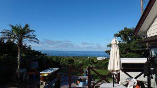 暑さも続き気持ちの良い夏の青空が広がっていた7/21の八丈島
