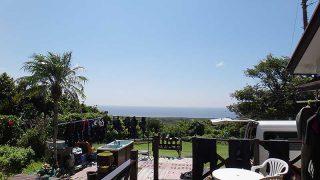 爽やかな青空広がり暑くもなっていた9/17の八丈島