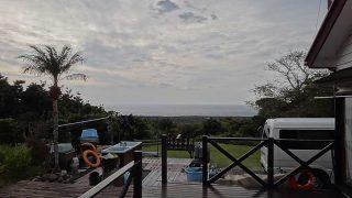 雲は増えてもきているものの時折薄日も差し込んでいた12/20の八丈島