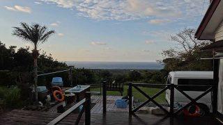南からの風も吹いてきていて暖かさも続いていた12/22の八丈島
