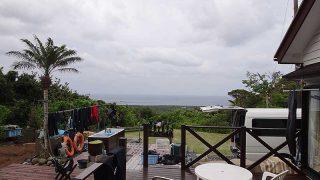 東寄りの風は吹き続き少し風が涼しくも感じられてた5/19の八丈島