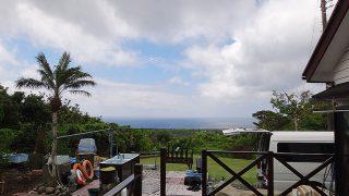 時間と共に気温も上がって暖かくなってきていた5/22の八丈島