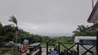 パラッと雨も降ってはくるが明るい曇りとなっていた6/29の八丈島