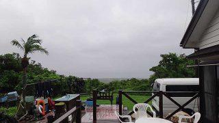 朝から雨は降り続きスッキリしない空模様が続いていた7/7の八丈島