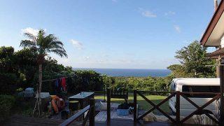 空気は乾いて日差しは強いが過ごしやすい陽気となっていた9/27の八丈島