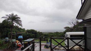 雨風強く大荒れの天気となっていた10/21の八丈島
