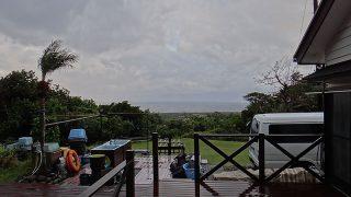 日中も気温は上がらず寒さが厳しくなっていた11/29の八丈島
