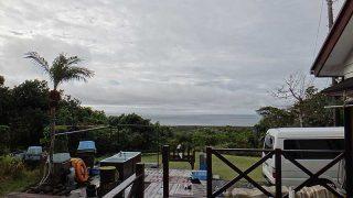 日中青空広がって季節はずれの暖かさとなっていた12/11の八丈島