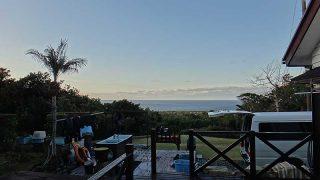 気持ちの良い青空が広がって暖かくもなっていた12/29の八丈島