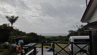 季節はずれの暖かさとはなるが風は強まっていた1/8の八丈島
