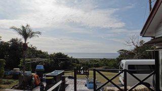 風は弱まり日差しもあって暖かな陽気が続いていた1/24の八丈島