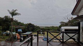 雨もパラつきグズついた空模様となっていた1/25の八丈島