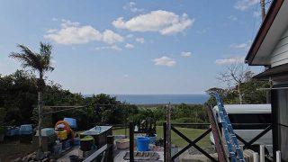 爽やかな青空が広がりカラッとしていた4/25の八丈島