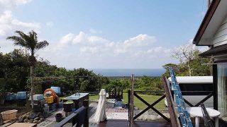 青空広がり暖かく穏やかな一日となっていた4/30の八丈島
