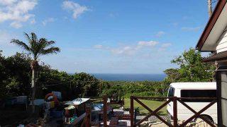 風は弱まり青空広がり暑さも続いていた5/15の八丈島