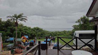 雨は降ったり止んだりのグズついた天気となっていた5/31の八丈島