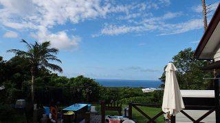 風は弱まり日差しは強く暑さが続いていた8/3の八丈島