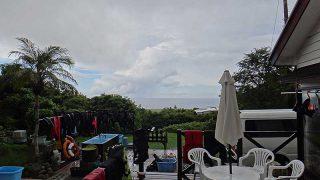 雨は降ったり止んだりですが青空も広がっていた9/1の八丈島