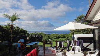 青空広がり暑さは続くが穏やかな天気となっていた9/13の八丈島