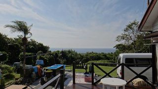 少し風は強いが青空広がり爽やかな天気となっていた10/29の八丈島