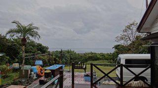気温は上がらず冷たい雨が降っていた12/12の八丈島