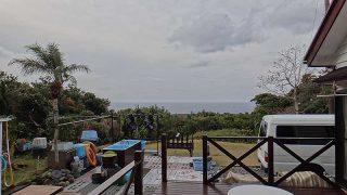 日中風は強まるが概ね穏やかな天気となっていた1/6の八丈島