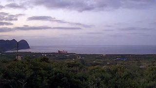 朝夕冷えるが日中は暖かで穏やかだった3/24の八丈島