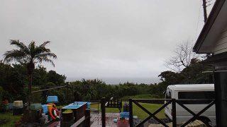 風が変わると一気に気温も下がってきていた4/5の八丈島