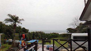 うっすら雲はあるものの爽やかな天気となっていた4/8の八丈島