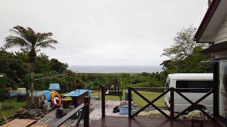 朝のうちには雨も上がり穏やかな天気となってきていた5/6の八丈島