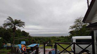 気温は下がるが湿度は高く梅雨っぽい装いとなっていた5/7の八丈島