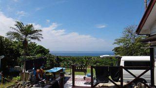 気持ちの良い青空が広がり暑いくらいの陽気となっていた5/31の八丈島
