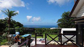 気持ちの良い青空と強い日差しで暑さが厳しくなっていた7/18の八丈島